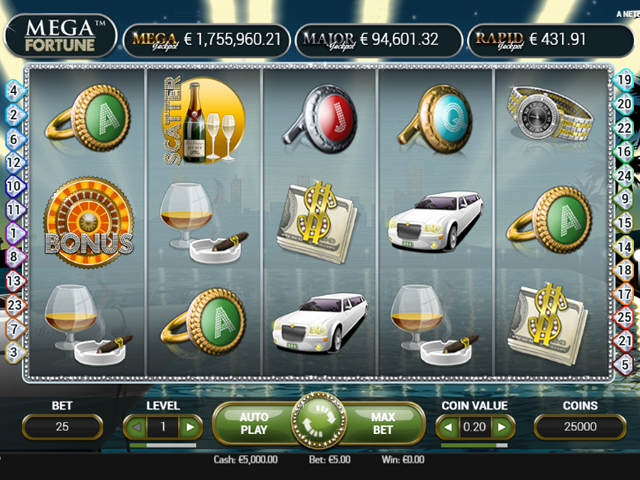 megafortune slot