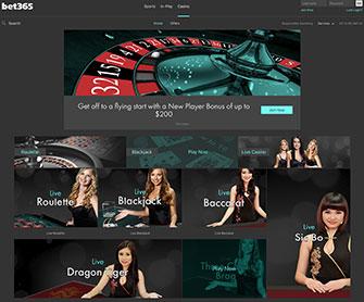 be365 online casino