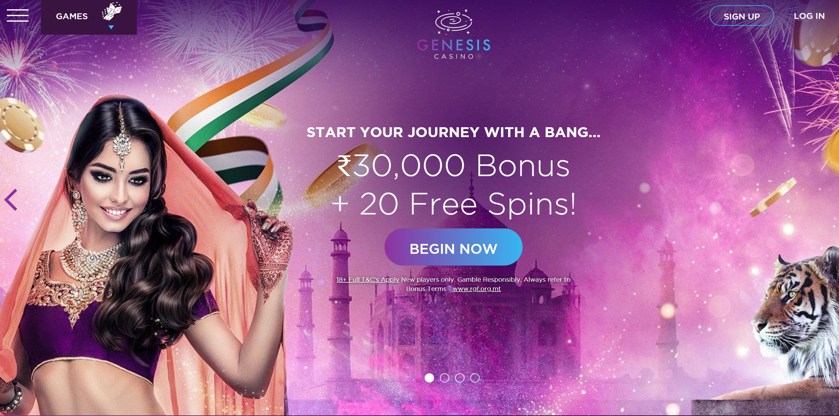 genesis casino welcome offer