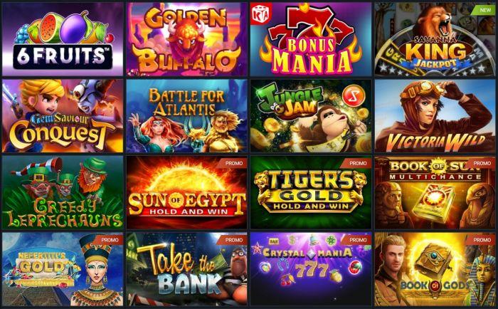 1xbet casino games