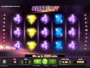 Starburst casino slot machine